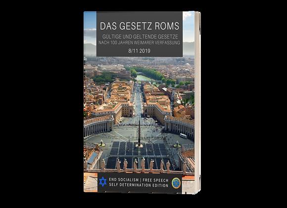Cover Das Gesetz Roms