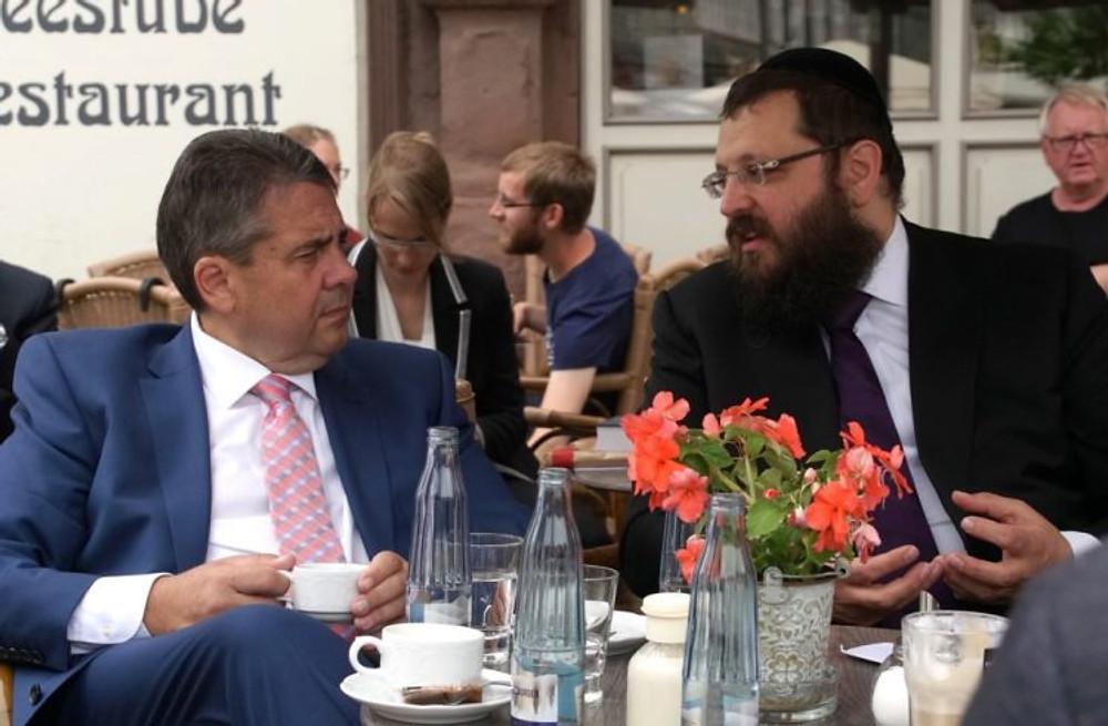 Yehuda Teichtal Sigmar Gabriel