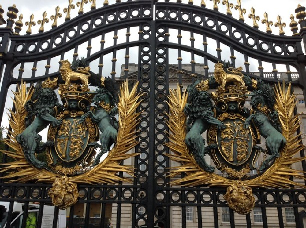 If you take a look onto the heraldic, you see that the Queen of England carries the signs of Judah (the Lion) and Ephraim (the Unicorn) - the two Houses of Israel.