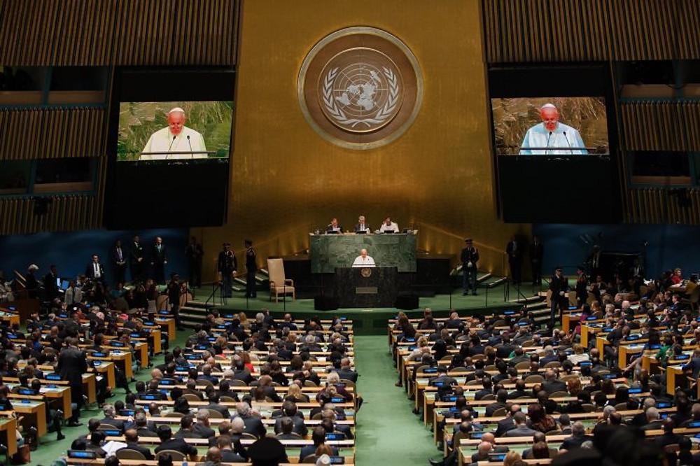 Der Papst in der UN