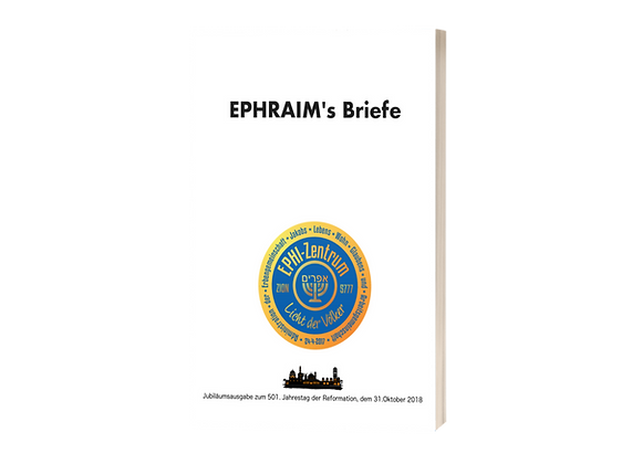Cover Ephraim´s briefe