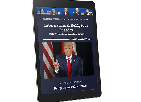 International Religious Freedom With President Donald J Trump