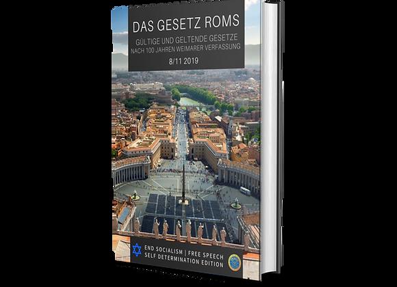 Das Gesetz Roms  - Taschenbuch