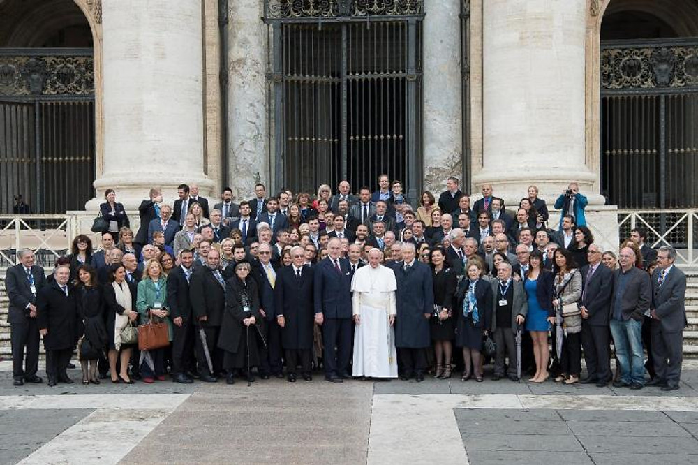 The Pope and the world Jewish Congress