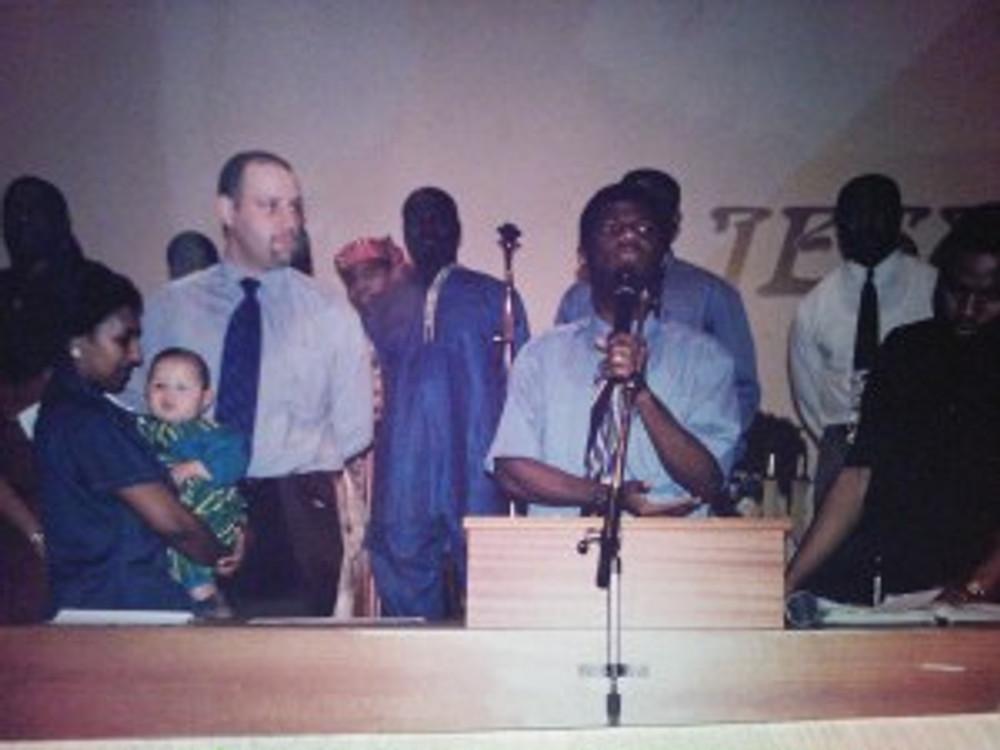 Dedication Daniel New Life Fellowship Jesus Haus