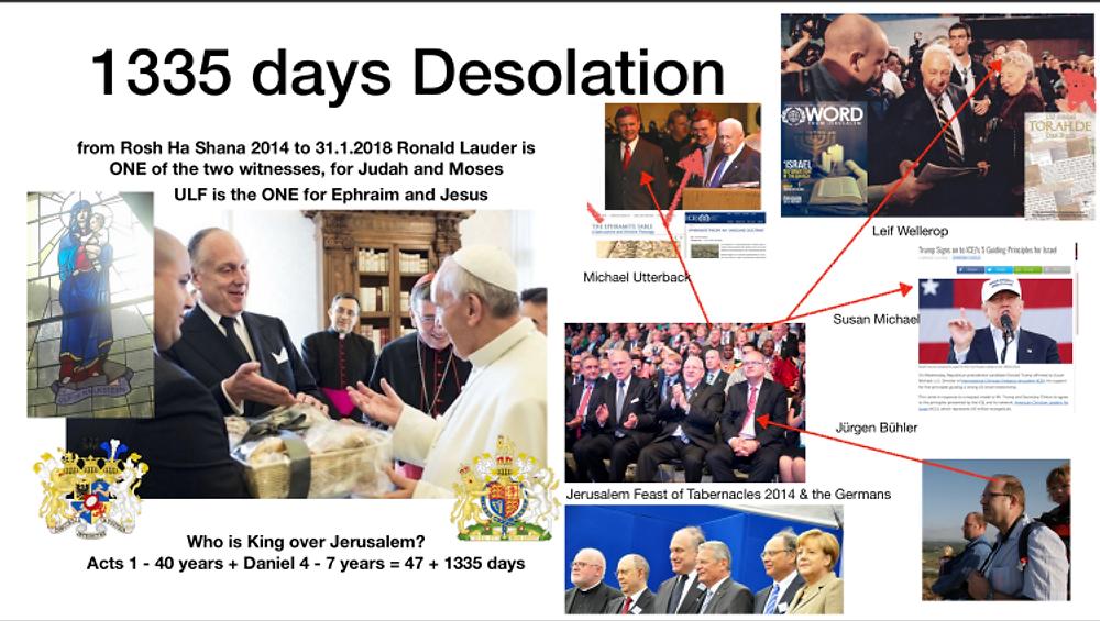 1335 Tage geistliche Zerstörung