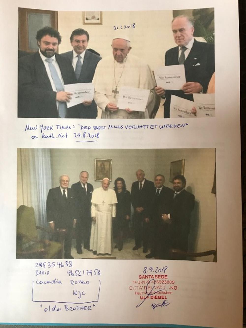 Santa Sede David De Rothschild