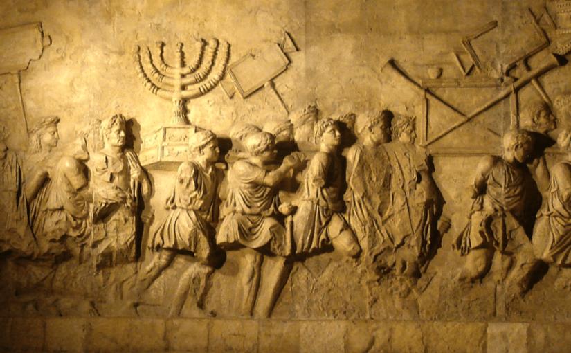 Rom Zerstört den Tempel in Jerusalem und trägt das Licht der Wahrheit in die Katakomben Roms.