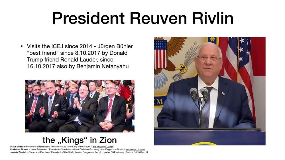 Präsident Reuven Rivlin