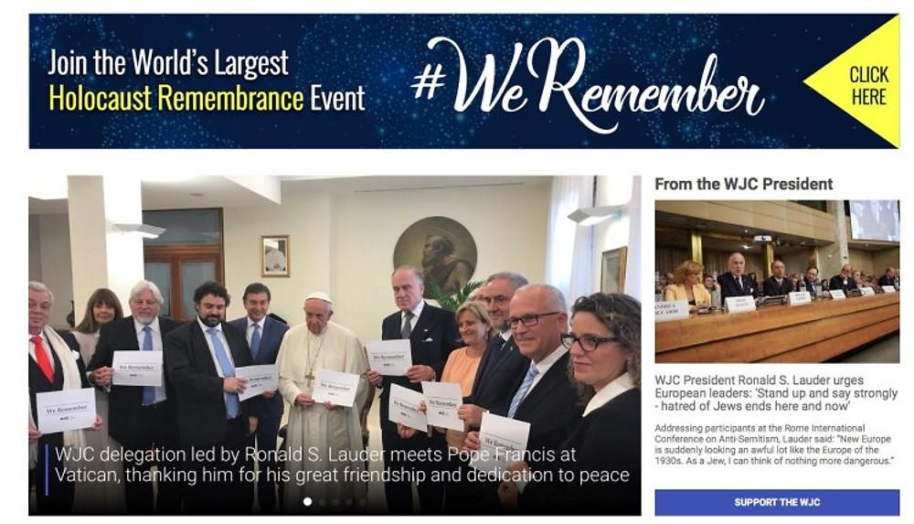WJC beim Papst