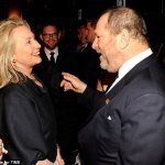 harvey weinstein hillary clinton
