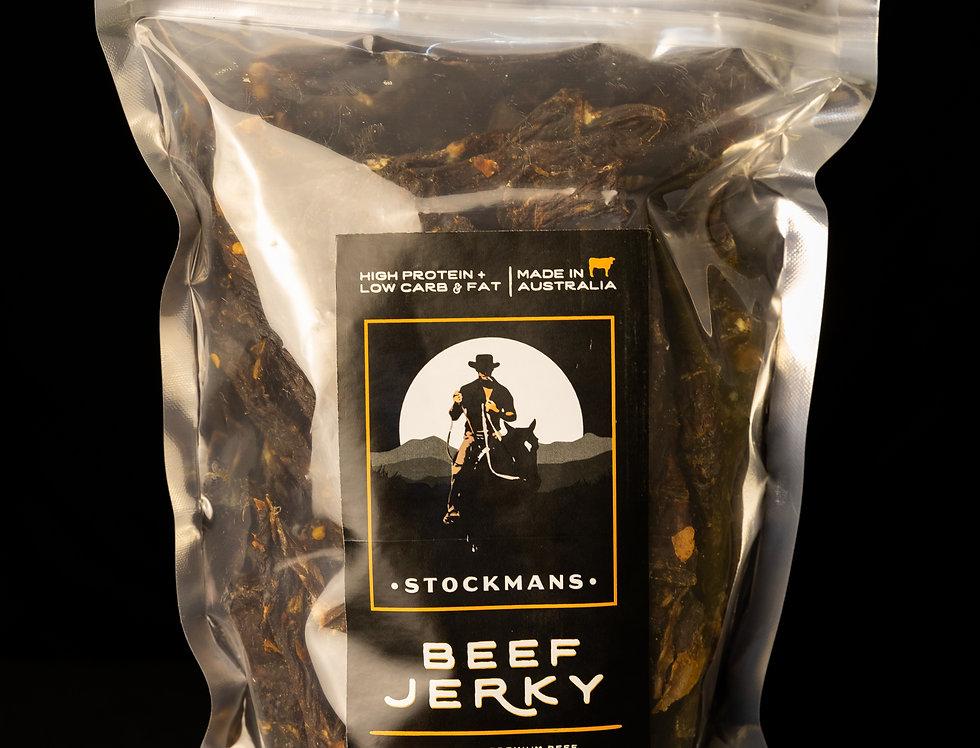 Stockmans Beef Jerky 500g HOT