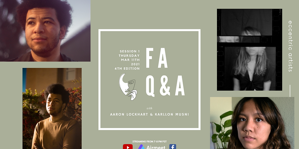 Featured Artists Q&A: Session 1 | 4th Edition
