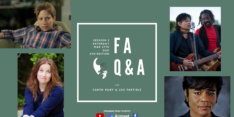 Featured Artists Q&A: Session 2 | 4th Edition