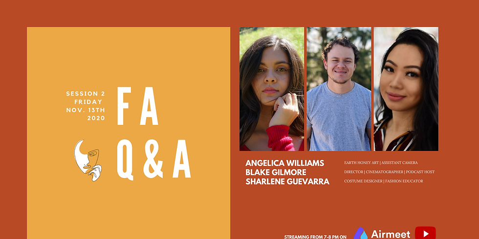 Featured Artists Q&A: Session 2 | 2nd Edition