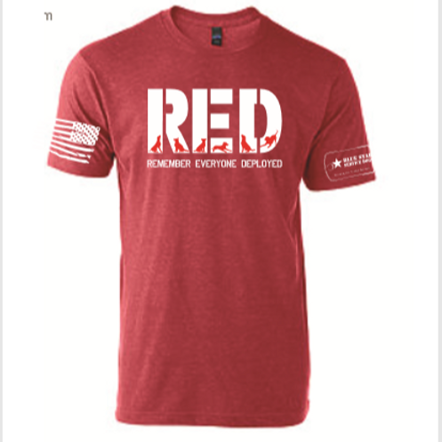 RED Friday's T-Shirt
