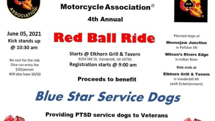 4th Annual RED BALL RIDE