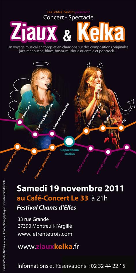 Concert-Spectacle Ziaux & Kelka