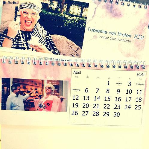 Tischkalender - Fabienne van Straten