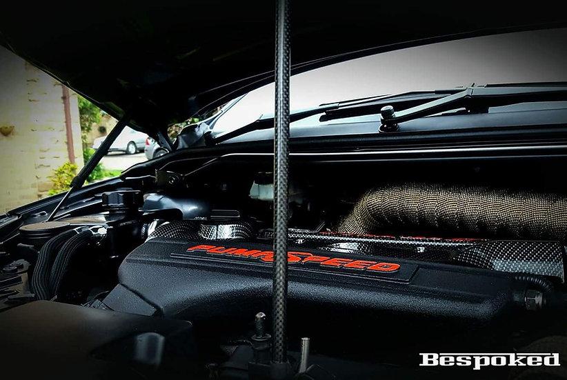 Bonnet Show Brace- Real Carbon Fibre