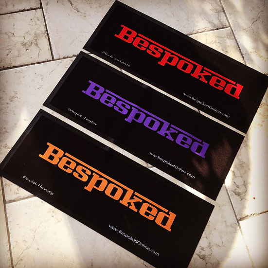 Bespoked Show Mat - Personalised