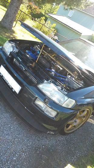 Bonnet Show Brace - Escort Cosworth