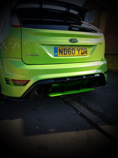 RS MK2 Diffuser Extension - Coloured