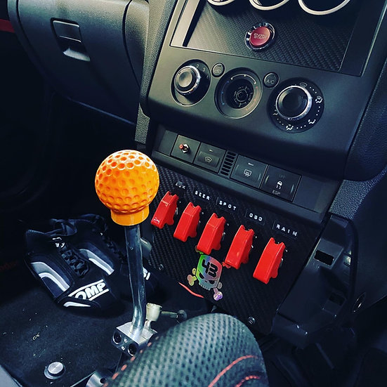 Retro Golf Ball Gear Knob - Focus MK2&2.5 & Fiesta m12x1.25