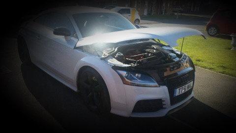 Bonnet Show Brace - Audi TT