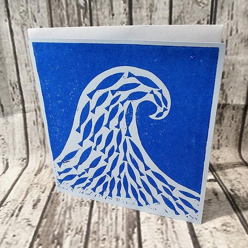 Card with Original Artwork Wave
