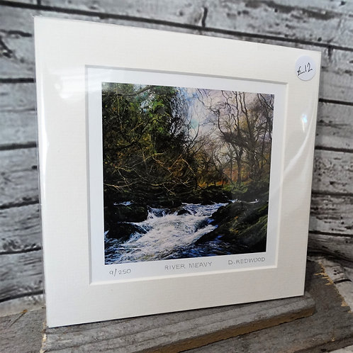 River Meavy Print from Original   Art