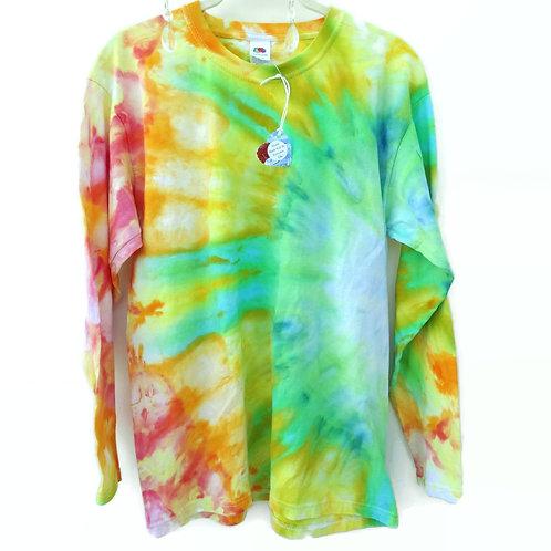 Size Medium Side Burst Tie Dye Shirt