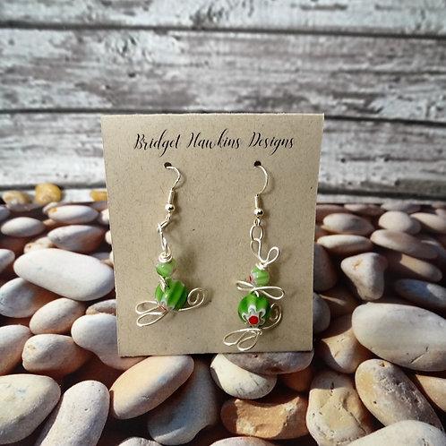 Wire Bunny Earrings
