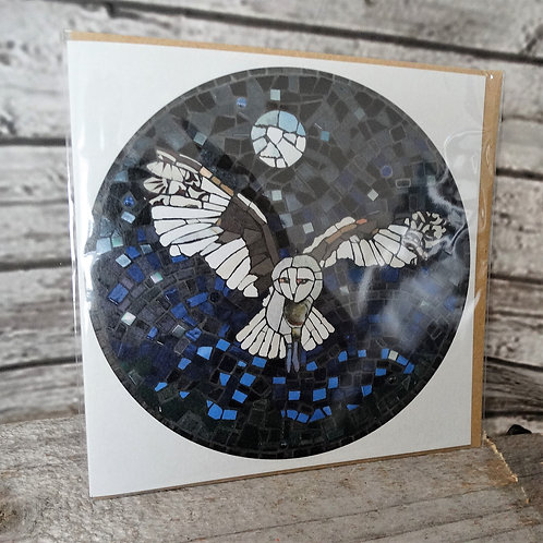 Greeting Cards- Mosaic Owl
