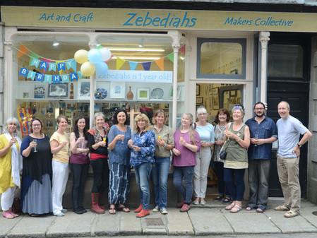 Zebediahs Celebrates its first Birthday