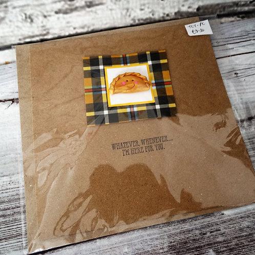 Greeting Cards- Cornish Pasty