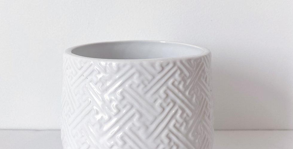 Kabasa Pot - White