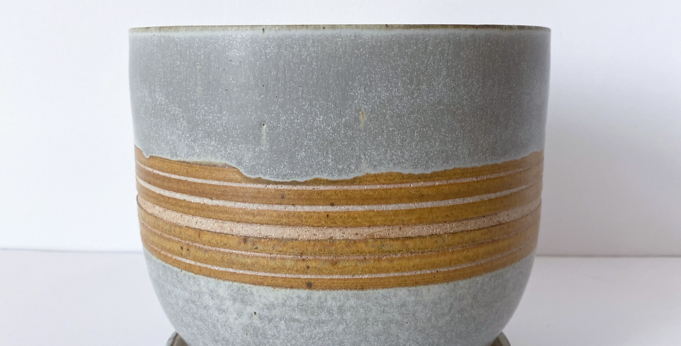 Veak Ceramics - Yellow Stripe