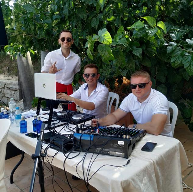 Evento privado en San Pere de Bosce Bosque