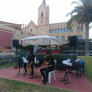 Выступление в San Pere del Bosque