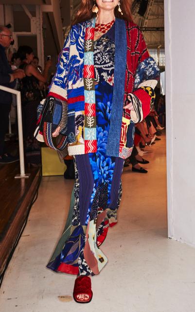 For inspiration: Etro maxi silk dress, found at Moda Operandi