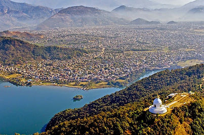 Bird's Eye View of Pokhara. PhotoOm Yada