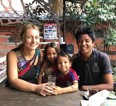 Founders of Umbrella cafe & Healing center