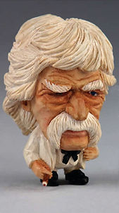 Mark Twain Miniature