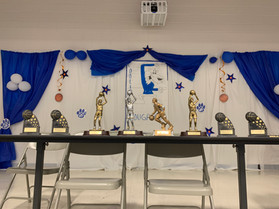 Basketball Trophy Table
