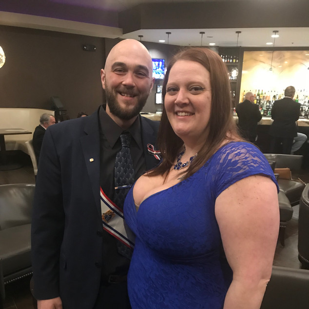SK Lance DalSanto & his wife