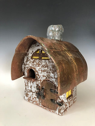 Irish Cottage Birdhouse