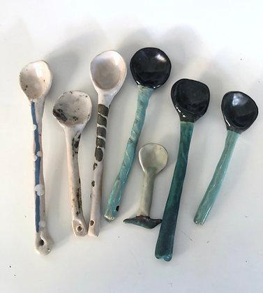 Ceramic spoon (each)