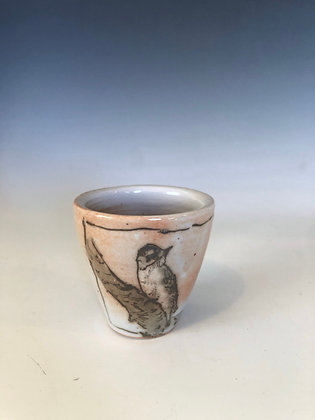 Tiny Woodpecker cup