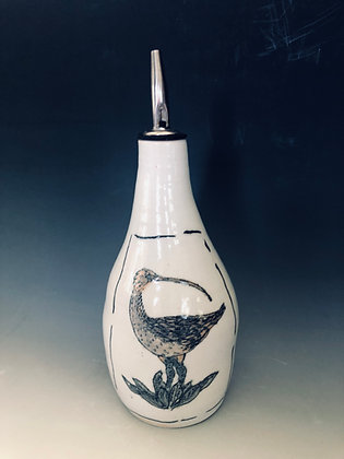 Curlew oil bottle
